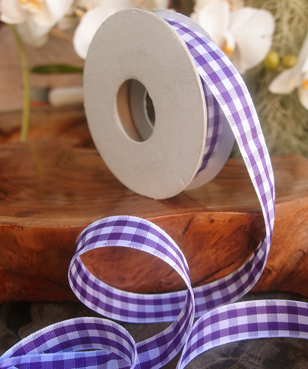 Gingham Check Ribbon