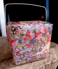 Flower Take Out Box