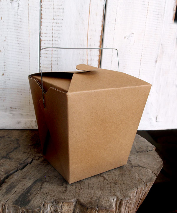 Kraft Paper Take Out Box