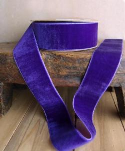 Purple Velvet Ribbon