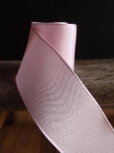 Pink Two-toned Grosgrain Ribbon with Wired Edge