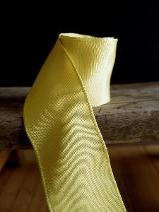 Yellow Two-toned Grosgrain Ribbon with Wired Edge