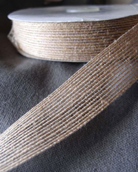 "Jute Ribbon 1"" - 3 rolls minimum"