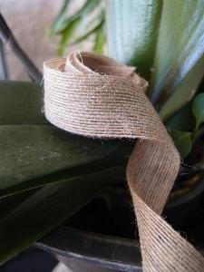 "Jute Ribbon 1.5"" - 3 rolls minimum"