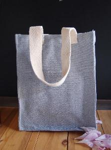 "Recycled Canvas Tote  8x10 -  8""W x 10""H x 5""D"