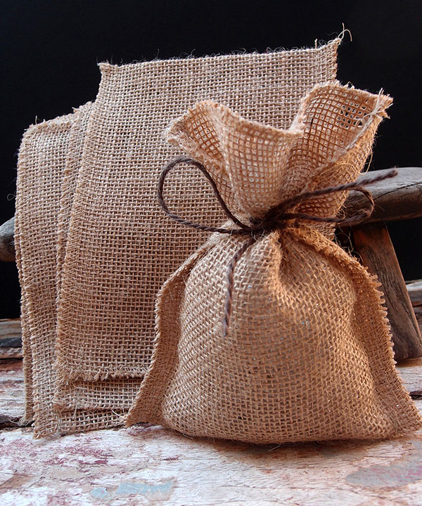 Jute Pouch - 12pcs/pack Imprint options are available. Contact us today for details.