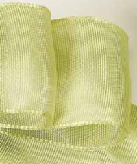 Lime Two-toned Grosgrain Ribbon
