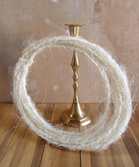 Natural Sisal Wire Rope