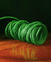 Green Wired Glittery Rope