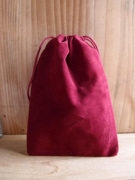 Burgundy Velvet Bags 4x5.5 - 100pcs/pack. 1 pack minimum.