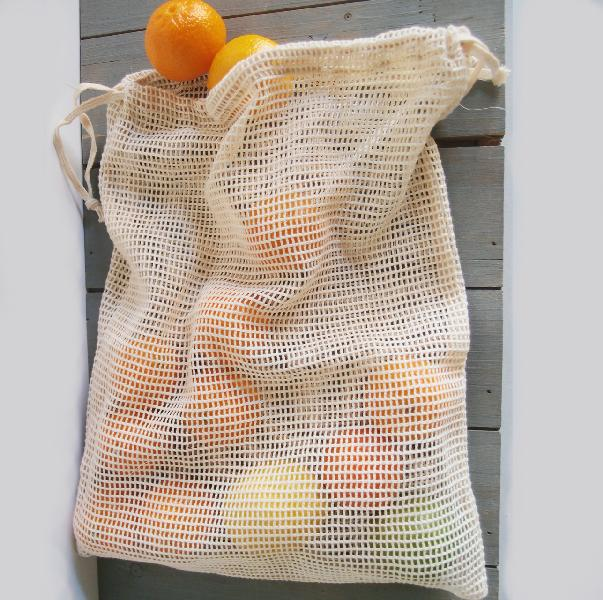 "Cotton Net Bags 12x15 - 12"" x 15"""