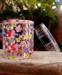 PET Flower Cylinder Box
