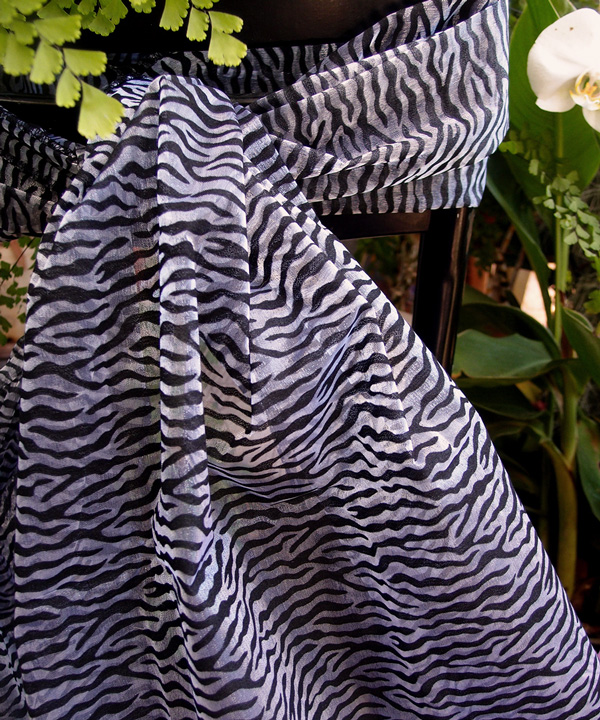 Zebra Print Sheet - Sold Individually.