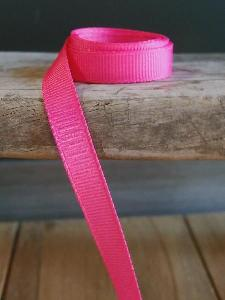 Shocking Pink Grosgrain Ribbon 3/8""
