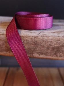 Burgundy Grosgrain Ribbon 3/8""