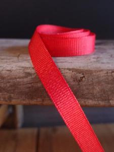 Red Grosgrain Ribbon 3/8""