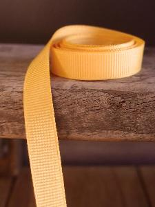 Gold Grosgrain Ribbon 3/8""