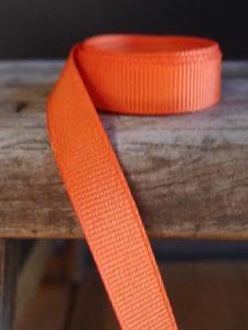 Orange Grosgrain Ribbon 3/8""