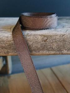 Dark Brown Grosgrain Ribbon 3/8""