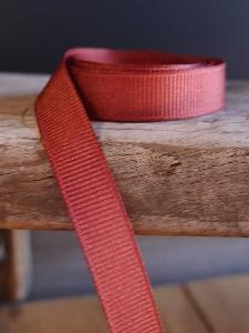 Rust Brown Grosgrain Ribbon 3/8""
