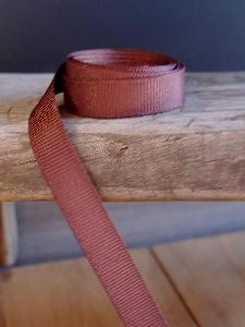 Cappuccino Brown Grosgrain Ribbon 3/8""