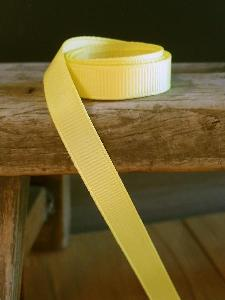 Dark Yellow Grosgrain Ribbon 3/8""