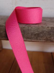 Shocking Pink Grosgrain Ribbon 5/8""
