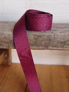 Burgundy Grosgrain Ribbon 5/8""