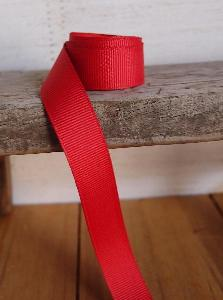 Red Grosgrain Ribbon 5/8""