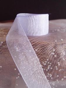 Iris Sheer Ribbon with Monofilament Edge