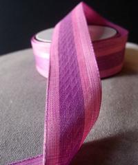 Vintage Cloth Striped Ribbon