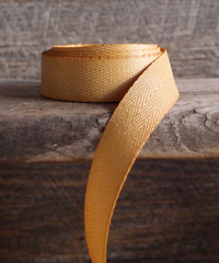 Gold Herringbone Ribbon