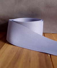 Lavender Herringbone Ribbon