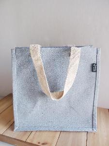 "Recycled Canvas Tote 12"" x 12"" w/ Laminated Lining - 12"" x 12"" x 7.75"""