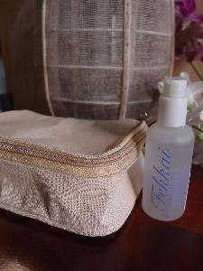 "Jute Travel Kit Bag  Dopp Kit - 8""W x 5.25""  x 3"" D"