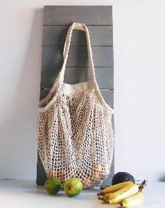 "Organic Cotton String Bag 15x15   - 15.7"" x 15.7"""