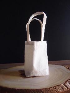 "Plain Cotton Bags - 5"" x 5"" x 2"""