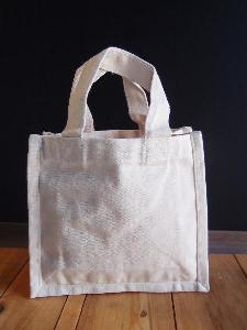 "Canvas Tote Bag - 7"" x 6"" x 2"""