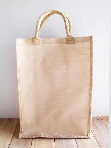 "Natural Jute Blend Tall Tote   - 13"" x 18"" x 8"""