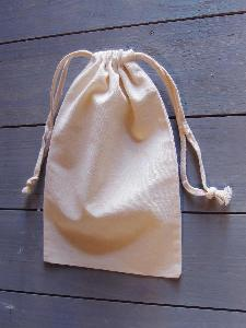 "Natural Cotton Bags 5.75x9.75 - 5.75"" x 9.75"""
