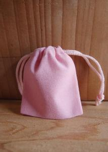 Pink Velvet Bags 2x2.5 - 100pcs/pack. 1 pack minimum