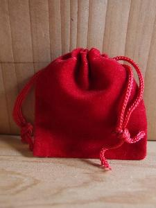 Red Velvet Bags 2x2.5 - 100pcs/pack. 1 pack minimum.