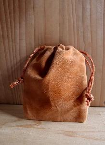 Brown Velvet Bags 2 x 2.5 - 100pcs/pack. 1 pack minimum