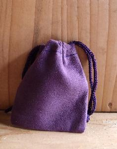 Purple Velvet Bags 2 x 2.5 - 100pcs/pack. 1 pack minimum.