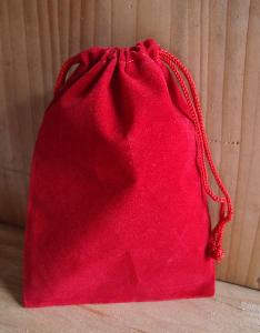 Red Velvet Bags - 100pcs/pack. 1 pack minimum.