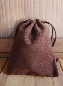 Chocolate Brown Velvet Bags 3x4 - 100pcs/pack. 1 pack minimum.