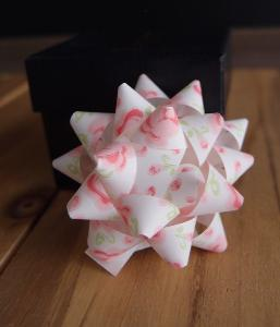 "Pink Rose 2"" Star Bows - 2"" Star Bows"