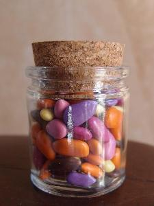 Cork Top Glass Jar - 2 oz