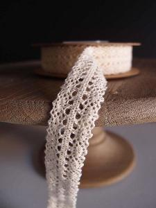 "Ivory Lace Ribbon - 1"" x 10Y"