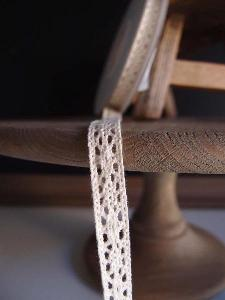 "Ivory Lace Ribbon - 1/2"" x 10Y"